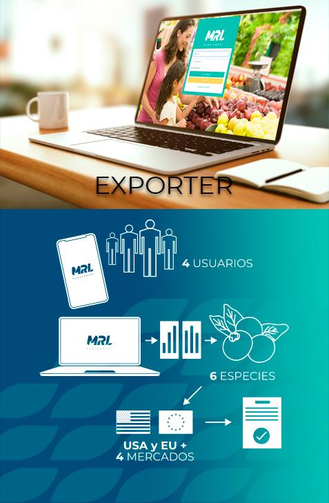 programa exporter de mrl managment